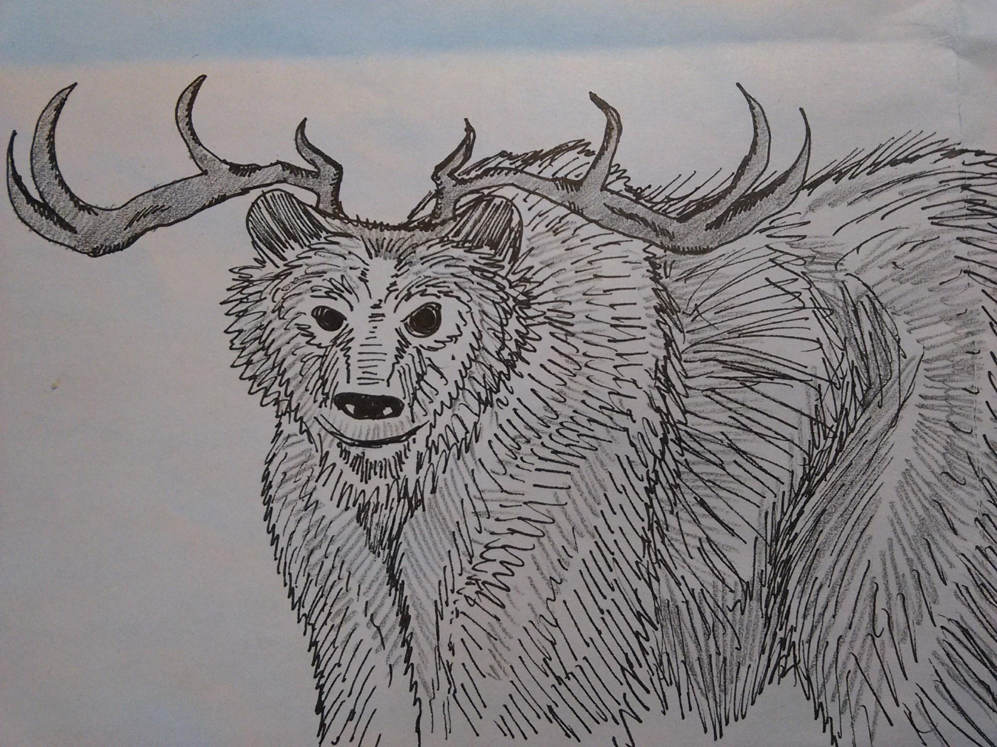 Antler Bear