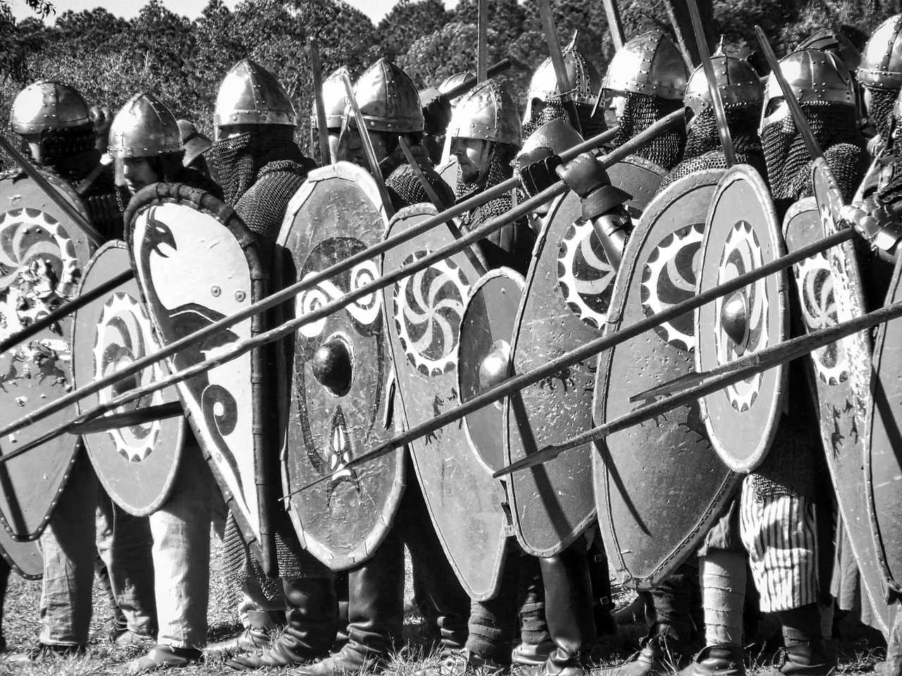 Shields up! The enemy is approaching.